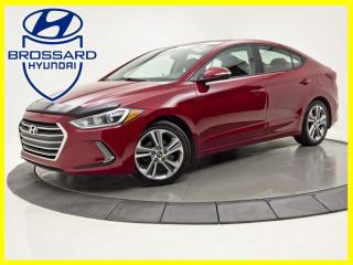 Used 2017 Hyundai Elantra GLS AUTO TOIT OUVRANT CAM DE RECUL MAGS for sale in Brossard, QC