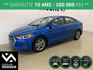 Used 2018 Hyundai Elantra GL ** GARANTIE 10 ANS ** Berline fiable et économique! for sale in Shawinigan, QC