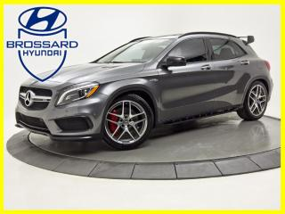 Used 2016 Mercedes-Benz GLA GLA45 AMG PACK TOIT PANO CUIR NAV CAM DE RECUL for sale in Brossard, QC