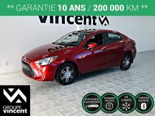 Used 2018 Toyota Yaris BERLINE ** GARANTIE 10 ANS ** Stylé et économique! for sale in Shawinigan, QC