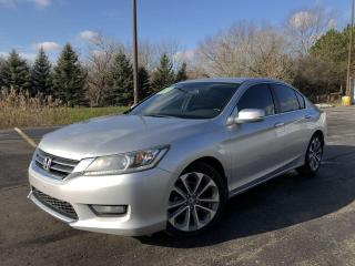 Used 2014 Honda Accord Sport 2WD for sale in Cayuga, ON