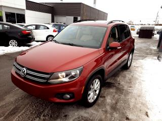Used 2014 Volkswagen Tiguan 4MOTION 4dr Auto, GARANTIE 1 AN ET OU 15000KM for sale in Beauport, QC