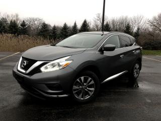 Used 2017 Nissan Murano S 2WD for sale in Cayuga, ON