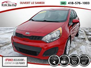 Used 2015 Kia Rio LX+* SIEGES CHAUFFANTS* BLUETOOTH* UN SE for sale in Québec, QC