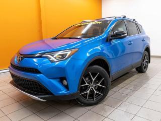 Used 2016 Toyota RAV4 SE TOIT ALERTES SIÈGES / VOLANT CHAUFF NAV *CUIR* for sale in St-Jérôme, QC