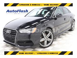 Used 2015 Audi A3 2.0T PROGRESSIV QUATTRO *S-LINE *GPS for sale in St-Hubert, QC
