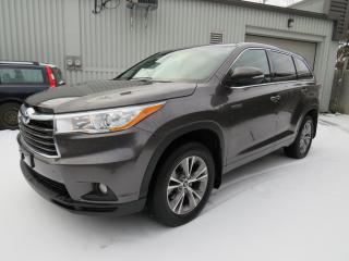 Used 2016 Toyota Highlander AWD HYBRIDE LE 8 PASSAGER CUIR CAMERA MAGS for sale in St-Eustache, QC
