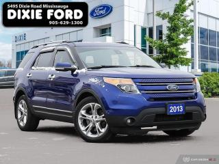 Used 2013 Ford Explorer LIMITED for sale in Mississauga, ON