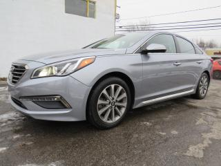 Used 2017 Hyundai Sonata 2.4L LIMITED SPORT NAVI TOIT PANO CUIR CAMERA MAGS for sale in St-Eustache, QC