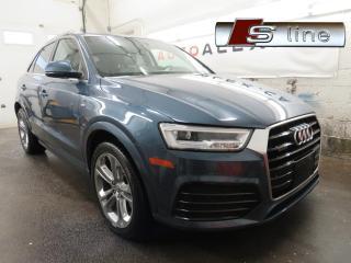 Used 2017 Audi Q3 S-Line Technik for sale in St-Eustache, QC