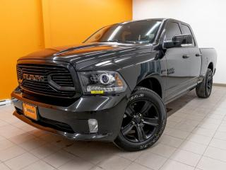 Used 2018 RAM 1500 SPORT 4X4 BLUETOOTH ÉCRAN 8.4 *NAVIGATION* for sale in St-Jérôme, QC