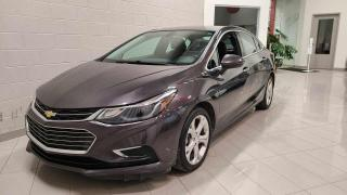 Used 2017 Chevrolet Cruze Premier 1.4L berline 4 portes avec 1SF for sale in Chicoutimi, QC