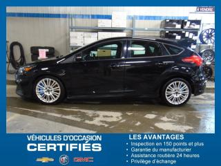 Used 2016 Ford Focus RS  MANUELLE TOIT + NAV for sale in Amos, QC