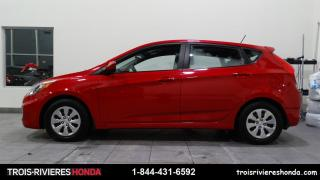 Used 2016 Hyundai Accent GL + MANUELLE + A/C + BLUETOOTH + CRUISE for sale in Trois-Rivières, QC