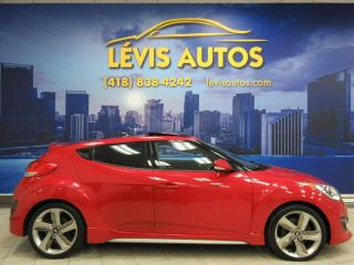 Used 2013 Hyundai Veloster TURBO TECHNOLOGIE PACKAGE GPS CUIR TOIT for sale in Lévis, QC