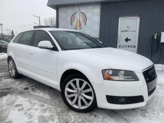 Used 2010 Audi A3 ***HATCHBACK,CUIR,MAGS,PNEUS D'HIVER*** for sale in Longueuil, QC