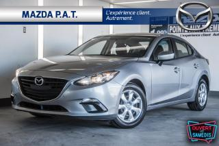 Used 2016 Mazda MAZDA3 AUTOMATIQUE,CAMÉRA DE RECUL,BLUETOOTH,A/C for sale in Montréal, QC