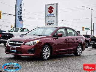Used 2014 Subaru Impreza AWD ~Heated Seats ~Bluetooth ~Alloy Wheels ~A/C for sale in Barrie, ON