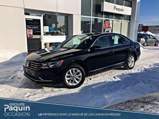 Used 2016 Volkswagen Passat Trendline+ Voiture démonstrateur for sale in Rouyn-Noranda, QC