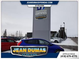 Used 2013 Hyundai Accent MODÈLE GL A/C GR ÉLECTRIQUE for sale in St-Félicien, QC