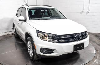 Used 2017 Volkswagen Tiguan WOLFSBURG 4MOTION CUIR TOIT PANO MAGS for sale in Île-Perrot, QC