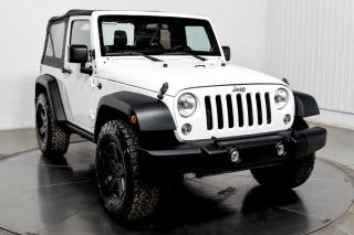 Used 2014 Jeep Wrangler SPORT AIR CLIMATISE MAGS for sale in Île-Perrot, QC