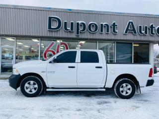 Used 2018 RAM 1500 ST cabine d'équipe 4x4 caisse de 5 pi 7 for sale in Alma, QC