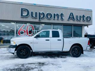 Used 2017 RAM 1500 Cabine quad 4RM, 140,5 po ST for sale in Alma, QC