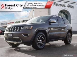 Used 2018 Jeep Grand Cherokee LIMI for sale in London, ON