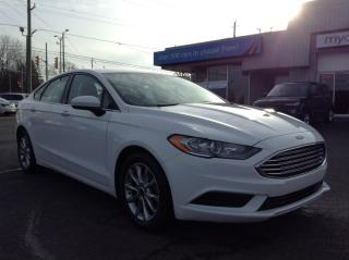 Used 2017 Ford Fusion SE ALLOYS, BACKUP CAM, BLUETOOTH!! for sale in Kingston, ON