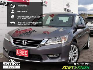 Used 2013 Honda Accord Touring V6 ONE OWNER, SMOKE-FREE, PET-FREE, WELL MAINTAINED for sale in Cranbrook, BC