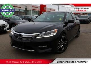 Used 2017 Honda Accord for sale in Whitby, ON