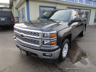 Used 2015 Chevrolet Silverado 1500 GREAT KM'S LT EDITION 6 PASSENGER 5.3L - VORTEC.. 4X4.. CREW-CAB.. SHORTY.. TRAILER BRAKE.. HEATED SEATS.. BACK-UP CAMERA.. BLUETOOTH SYSTEM.. for sale in Bradford, ON