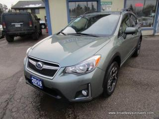 Used 2016 Subaru XV Crosstrek ALL-WHEEL DRIVE PREMIUM EDITION 5 PASSENGER 2.0L - DOHC.. TOUCH SCREEN DISPLAY.. BACK-UP CAMERA.. BLUETOOTH SYSTEM.. KEYLESS ENTRY.. for sale in Bradford, ON