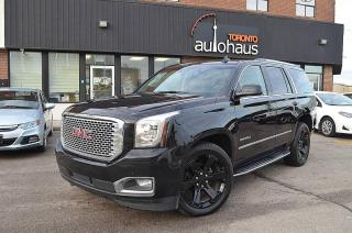 Used 2017 GMC Yukon Yukon Denali/Highest Trim/Excellent Condition for sale in Concord, ON