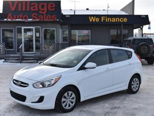 Used 2017 Hyundai Accent HEATED SEATS! CRUISE CONTROL! BLUETOOTH! for sale in Saskatoon, SK