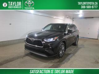 Used 2020 Toyota Highlander LIMITED  for sale in Regina, SK