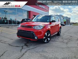 Used 2014 Kia Soul SX HEATED SEATS/STEERING WHEEL, BACKUP CAMERA,, LEATHER SEATS for sale in Calgary, AB