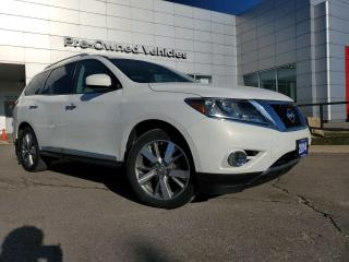 Used 2014 Nissan Pathfinder Platinum WELL MAINTAINED PLATINUM PATHFINDER. ONLY 84000KMS for sale in Toronto, ON