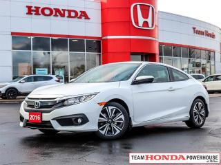 Used 2016 Honda Civic EX-T--1 Owner--No Accidents--Heated Seats--Remote Starter--Lane Watch--Honda Sensing for sale in Milton, ON