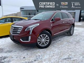 Used 2018 Cadillac XT5 Luxury AWD | Front & Rear Heated Seats | Sunroof for sale in Winnipeg, MB