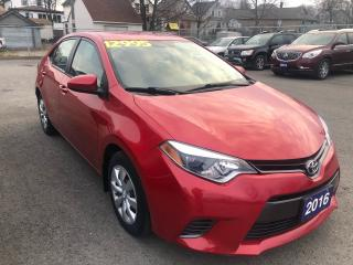 Used 2016 Toyota Corolla LE for sale in St Catharines, ON