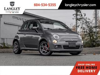 Used 2012 Fiat 500 Sport  Bluetooth/ Leather/ Sunroof/ Local for sale in Surrey, BC