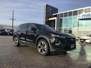 Used 2019 Hyundai Santa Fe Ultimate 2.0 AWD | Panoramic Sunroof for sale in Chatham, ON