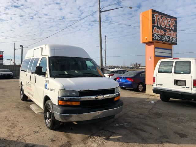 2008 Chevrolet Express *WHEELCHAIR ACCESSIBLE*POWER RAMP*HIGH ROOF*AS IS