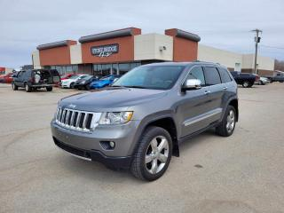 Used 2012 Jeep Grand Cherokee Overland 4dr 4WD Sport Utility for sale in Steinbach, MB