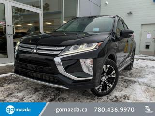 Used 2018 Mitsubishi Eclipse Cross GT - LEATHER, AWD, HEATED SEATS, SUNROOF AND MUCH MORE. GREAT VALUE for sale in Edmonton, AB