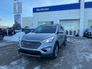 Used 2016 Hyundai Santa Fe XL LTD/6PASS/BROWNLEATHER/PANOROOF/NAV/COOLEDSEATS/HEATEDSTEERING for sale in Edmonton, AB
