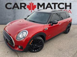 Used 2018 MINI Cooper Clubman COOPER ALL4 / NO ACCIDENTS / SUNROOF for sale in Cambridge, ON
