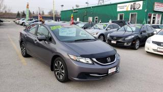 Used 2014 Honda Civic EX **MANUAL / SUNROOF / CAMERA / BLUETOOTH*** for sale in Burlington, ON